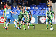 Dannie Bulman midfielder of AFC Wimbledon (4) during the Sky Bet League 2 match between Hartlepool United and AFC Wimbledon at Victoria Park, Hartlepool, England on 25 March 2016. Photo by Stuart Butcher.