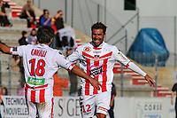 Adrian Mutu  et Yohan Cavalli joie apres 2ieme but (Ajaccio)