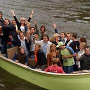 NLD/Amsterdam/20050808 - Deelnemers Sterrenslag 2005, groepsfoto