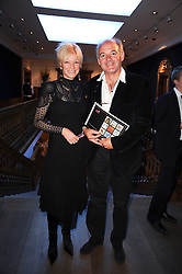 LUDOVIC LINDSAY and FI WALSH at an auction and priavte view of paintings, drawings, stories and doodles by well known personalities held at Christie's, St.James's, London on 20th September 2010.
