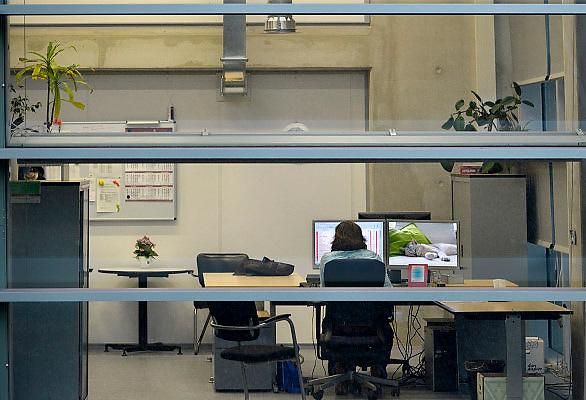 Nederland, Nijmegen, 14-11-2012Het Huygensgebouw van de radboud universiteit, ru, run,waar de beta studies gehuisvest zijn. Foto: Flip Franssen