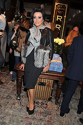 NANCY DELL'OLIO at a reception hosted by Ralph Lauren Double RL and Dexter Fletcher before a private screening of Wild Bill benefitting FilmAid held at RRL 16 Mount Street, London on 26th March 2012.