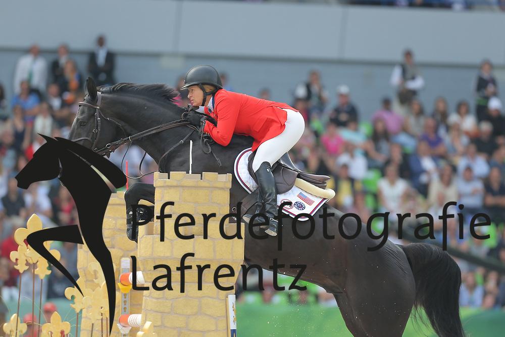 Madden, Beezie, Cortes C´<br /> Normandie - WEG 2014<br /> Springen - Finale IV<br /> © www.sportfotos-lafrentz.de/ Stefan Lafrentz