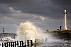 July 21, 2019 - Waves Crashing, Sunderland, Tyne And Wear, England (Credit Image: © John Short/Design Pics via ZUMA Wire)