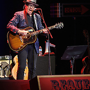 WASHINGTON, DC - November 22nd, 2013 - Elvis Costello performs at Lisner Auditorium on the George Washington University campus. Costello performed solo for over two hours, playing more than 25 songs for a sold out crowd. (Photo by Kyle Gustafson / For The Washington Post)