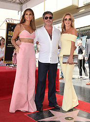 Simon Cowell receives a star on the Hollywood Walk of Fame. 22 Aug 2018 Pictured: Alesha Dixon,Simon Cowell,Amanda Holden. Photo credit: AXELLE/BAUER-GRIFFIN / MEGA TheMegaAgency.com +1 888 505 6342