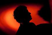 Belo Horizonte_MG, Brasil...Silhueta do musico e compositor mineiro Joao Antunes...A musician and composer silhouette, Joao Antunes...Foto: LEO DRUMOND / NITRO