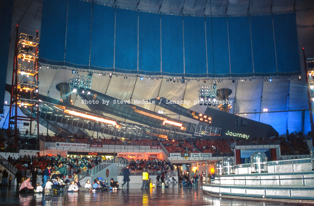 The Performance Area inside the Millennium Dome, Greenwich, London, England - 27 November 2000