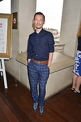 MATTHEW WILLIAMSON at The Women for Women International & De Beers Summer Evening held at The Royal Opera House, Covent Garden, London on 23rd June 2014.