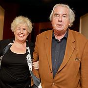 NLD/Amsterdam/20110929 - Presentatie biografie Mies Bouwman, Joop van Zijl en partner Josephine