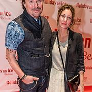 NLD/Utrecht//20170323 - Première 'Believe' van Holiday On Ice, Casper Burgi en partner Barbara