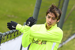 November 26, 2019, Genk, UNITED KINGDOM: Genk's Junya Ito pictured during a training session of Belgian soccer team KRC Genk, Tuesday 26 November 2019 in Genk, in preparation of tomorrow's match against Austrian club RB Salzburg in the group stage of the UEFA Champions League. BELGA PHOTO YORICK JANSENS (Credit Image: © Yorick Jansens/Belga via ZUMA Press)