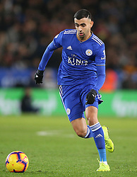 Leicester City's Rachid Ghezzal during the Premier League match at the King Power Stadium, Leicester.