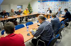during meeting of Executive Committee of Ski Association of Slovenia (SZS) on January 13, 2014 in SZS,  Ljubljana, Slovenia. Photo by Vid Ponikvar / Sportida