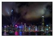 Hong Kong Skyline. Nikon D850, 24-70mm @ 35mm, f2.8, 1/40sec, ISO2500, Manual modus