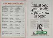 All Ireland Senior Hurling Championship - Final,.07.09.1980, 09.07.1980, 7th Spetember 1980,.Galway 2-15, Limerick 3-9,.07091980ALSHCF,..PMPA Insurance Company Limited,