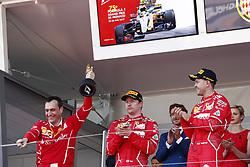 May 28, 2017 - Monte Carlo, Monaco - Motorsports: FIA Formula One World Championship 2017, Grand Prix of Monaco, .Riccardo Adami (ITA, Scuderia Ferrari), #7 Kimi Raikkonen (FIN, Scuderia Ferrari), #5 Sebastian Vettel (GER, Scuderia Ferrari) (Credit Image: © Hoch Zwei via ZUMA Wire)