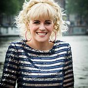 NLD/Amsterdam/20140430 - Clipopname K3 'Drums gaan boem', Josje Huisman