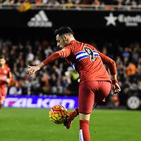 RCD Espanyol's Burgui  during La Liga match. February 13, 2016. (ALTERPHOTOS/Javier Comos)