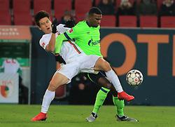 15.12.2018, 1.BL, FCA vs Schalke 04, WWK Arena Augsburg, Fussball, Sport, im Bild:..Ja-Cheol Koo (FC Augsburg) vs Haji Amir Wright ( Schalke 04)..DFL REGULATIONS PROHIBIT ANY USE OF PHOTOGRAPHS AS IMAGE SEQUENCES AND / OR QUASI VIDEO...Copyright: Philippe Ruiz..Tel: 089 745 82 22.Handy: 0177 29 39 408.e-Mail: philippe_ruiz@gmx.de. (Credit Image: © Philippe Ruiz/Xinhua via ZUMA Wire)