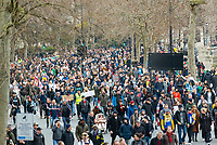 thousands of Anti-Lockdown protesters London during the coronavirus pandemic 21st march 2021 photo by Mark Anton Smith