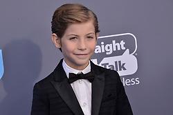Jacob Tremblay at The 23rd Annual Critics' Choice Awards held at the Barker Hangar on January 11, 2018 in Santa Monica, CA, USA (Photo by Sthanlee B. Mirador/Sipa USA)