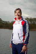 Mcc0038874 . Daily Telegraph..DT Sport..Katherine Grainger MBE , Womens Double Scull, Triple Silver Olympic Medalist..The announcement of the GB Rowing Crews for the first World Cup.. .Reading 4 April 2012