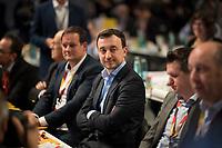 DEU, Deutschland, Germany, Hamburg, 08.12.2018: Paul Ziemiak, Chef der Jungen Union (JU) und neuer CDU-Generalsekretär, beim Bundesparteitag der CDU in der Messe Hamburg.