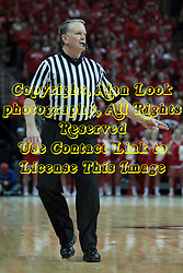 22 January 2014:  Mike Stuart during an NCAA Missouri Valley Conference mens basketball game between the Shockers of Wichita Stat and the Illinois State Redbirds  in Redbird Arena, Normal IL.