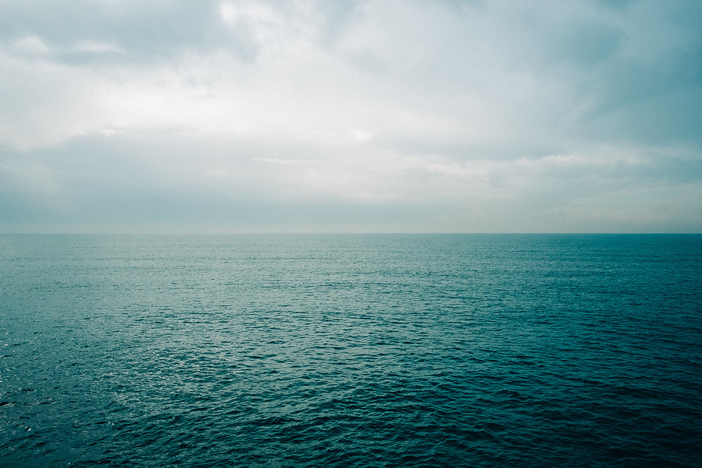 ONLY THE SEA WILL SAVE US