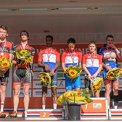 18-06-2017: Wielrennen: NK Paracycling: Montferland<br /> s-Heerenberg (NED) wielrennen Podium C1-5 mannen en vrouwen