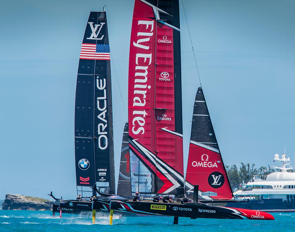 Day  4<br /> 2017 35th America's Cup Bermuda