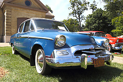 01 August 2015:  1955 Studebaker Champion Deluxe - Bill & Marilyn Tate<br /> <br /> Displayed at the McLean County Antique Automobile Association Car show at David Davis Mansion in Bloomington Illinois