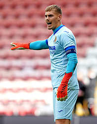 Villarreal goalkeeper Filip Jorgensen during the UEFA Youth League, Group F match at Leigh Sports Village, Manchester. Picture date: Wednesday September 29, 2021.