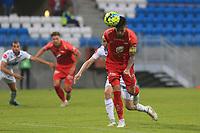 Fotball , 17. juni 2020 , Eliteserien,<br />Haugesund - Brann Bergen<br />Daniel Pedersen skåring andre mål for Brann Bergen mot Haugesund.<br />Foto: Andrew Halseid Budd , Digitalsport
