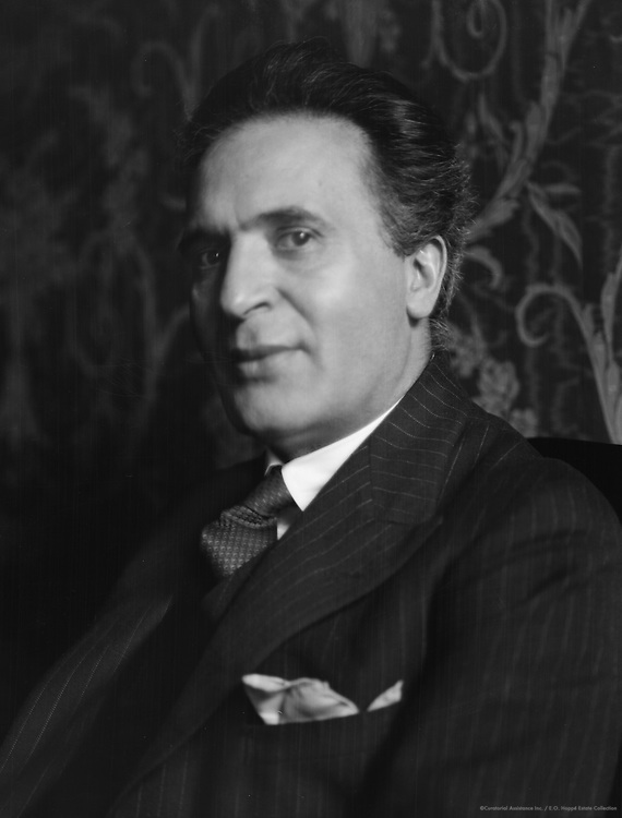 Bruno Walter, composer and conductor, 1927