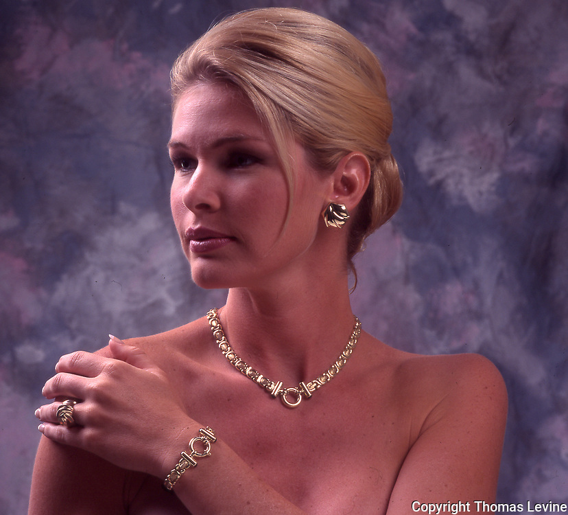 Model Test Shoot for jewelry job