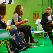 London, England, UK. 10th November 2017. how to break into a business you know nothing about with Pippa Murray,Poppy Mardall,Step Douglas,Ernestina Potts, at the Stylist Live 2017 at Olympia London.