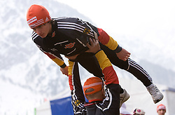 FREITAG Richard, SG Nickelhuette Aue, GER  at warming up area before Flying Hill Individual Trial Round at 3rd day of FIS Ski Flying World Championships Planica 2010, on March 20, 2010, Planica, Slovenia.  (Photo by Vid Ponikvar / Sportida)