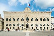 Malta's Prime Minister's Office - originally the Auberge de Castille (Inn of the Knights from Castille), Valletta