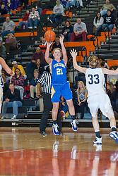 27 December 2010: 2010 State Farm Holiday Basketball Classic,  Tri Valley Vikings v Bloomington Central Catholic Saints, Girls
