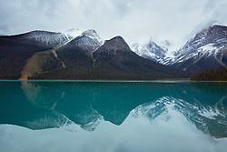 Emerald Lake in Yoho National Park British Columbia, Canada