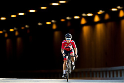 September 23, 2017 - Bergen, NORWAY - 170923 Emilie Moberg of Norway rides alone on the last lap during the Women Elite Road Race on September 23, 2017 in Bergen..Photo: Vegard Wivestad GrÂ¿tt / BILDBYRN / kod VG / 170026 (Credit Image: © Vegard Wivestad Gr¯Tt/Bildbyran via ZUMA Wire)