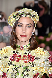 Alexa Chung attends The 2019 Met Gala Celebrating Camp: Notes On Fashion at The Metropolitan Museum of Art on May 06, 2019 in New York City. Photo by Lionel Hahn/ABACAPRESS.COM