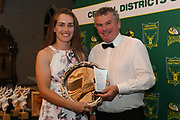 Natalie Dodd, Hinds Player of the Year, Central Districts Cricket Awards Dinner, The Old Church, Napier, Friday, March 22, 2019. Copyright photo: Kerry Marshall / www.photosport.nz