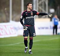 Fotball , 27.  januar 2016 , privatkamp<br /> Odd - CSKA Moskva<br /> Igor Akinfeev  , CSKA Moskva