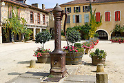Water pump, Labastide d'Armagnac, France