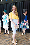 May McCathy from Ennis Co. Clare finalist in the Best dressed at the 93rd annual Connemara Pony show in Clifden Co. Galway  Photo:Andrew Downes, XPOSURE