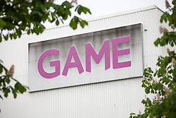 © Licensed to London News Pictures. 20/05/2014. Basingstoke, Hampshire, UK. A general view of a sign outside the Game Retail Headquarters in Basingstoke, Hampshire this morning, 20th May 2014. Game Retail Limited, the video game retailer is to float on the London Stock Exchange at a value of£400m. The Initial Public Offering (IPO) is expected to take place within the next four weeks, two years after falling into administration. The business will be renamed to Game Digital. Photo credit : Rob Arnold/LNP