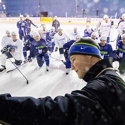 20170508: FRA, Ice Hockey - IIHF World Championship 2017, Team Slovenia practice session